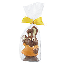Buy Natalie Milk Chocolate Bunny In Dress Online at johnlewis.com