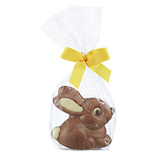 Buy Natalie Milk Chocolate Sitting Bunny Online at johnlewis.com