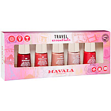 Buy Mavala 5 Piece Nail Polish Gift Set, 5 x 5ml Online at johnlewis.com