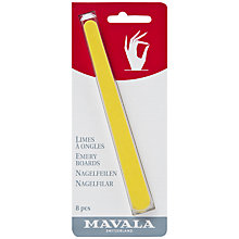 Buy MAVALA Emery Boards, x 8 Online at johnlewis.com