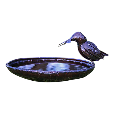 RSPB Kingfisher Metal Bird Bath
