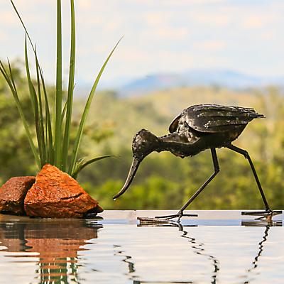 RSPB Pecking Avocet Metal Sculpture