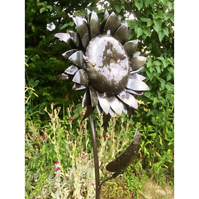 RSPB Sunflower Plant Metal Stake