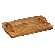 Buy John Lewis Olivewood Tray Online at johnlewis.com