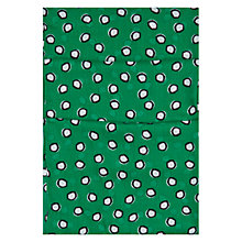 Buy Hobbs Suki Spot Scarf, Green Online at johnlewis.com