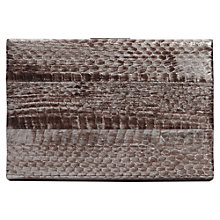 Buy Reiss Jessie Cut Work Clutch Bag, Black Online at johnlewis.com