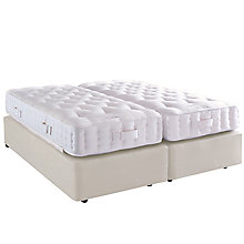 Buy Vispring Special Chatsworth Zip Link Divan Base and Mattress Set, Super King Size Online at johnlewis.com