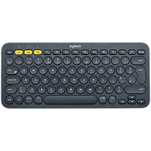 Buy Logitech K380 Multi-device Bluetooth Keyboard, Dark Grey Online at johnlewis.com