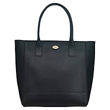 Buy OSPREY LONDON Haxby Leather Tote Bag, Black Online at johnlewis.com