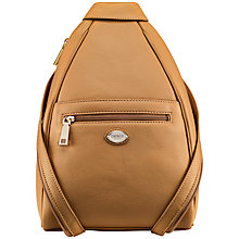 Buy OSPREY LONDON Tenbury Leather Rucksack Online at johnlewis.com