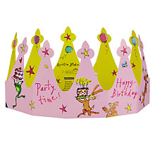 Buy Woodmansterne Quentin Blake Girl's Crown Birthday Card Online at johnlewis.com