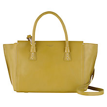Buy Radley Wimbledon Medium Leather Shoulder Bag, Green Online at johnlewis.com