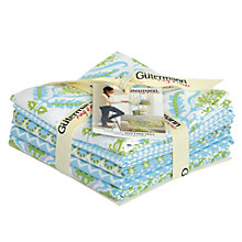 Buy Gutermann Notting Hill Fat Quarter Craft Fabric, Blue Online at johnlewis.com