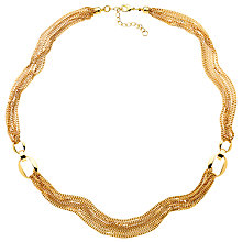 Buy Monet Multi Chain Long Necklace, Gold Online at johnlewis.com