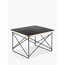 Buy Vitra Eames LTR Occasional Side Table, Black Online at johnlewis.com