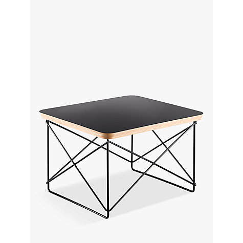 buy vitra eames ltr occasional side table black john lewis. Black Bedroom Furniture Sets. Home Design Ideas