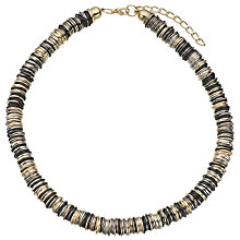 Buy John Lewis Multi Rings Necklace, Gold/Multi Online at johnlewis.com