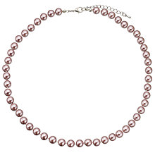 Buy John Lewis Short Faux Pearl Necklace Online at johnlewis.com