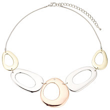 Buy John Lewis Cutout Circles Necklace Online at johnlewis.com