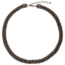 Buy John Lewis Metallic Ball Necklace, Gunmetal Online at johnlewis.com