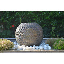 Buy Foras Bliss 50 Inca Water Feature Kit Online at johnlewis.com