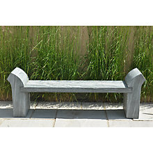 Buy Foras Strabo 160 Shark Sandstone Bench Online at johnlewis.com