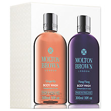 Buy Molton Brown Gingerlily & Ylang-Ylang Body Wash Set, 2 x 300ml Online at johnlewis.com