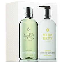 Buy Molton Brown Grapeseed Body And Bath Gift Set Online at johnlewis.com