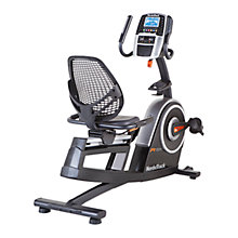 Buy NordicTrack R65 Recumbent Exercise Bike, Grey/Black Online at johnlewis.com