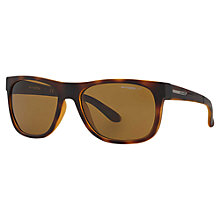 Buy Arnette AN4206 Fire Drill Lite Polarised Square Sunglasses, Tortoise Online at johnlewis.com