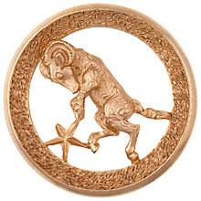 Buy Eclectica 1960's Trifari Gold Plated Aries Brooch, Gold Online at johnlewis.com