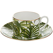 Buy House of Hackney Palmeral Teacup and Saucer Set Online at johnlewis.com