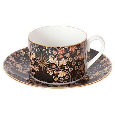 House of Hackney Hyacinth Teacup and Saucer, William Morris Collection