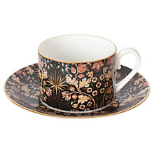Buy House of Hackney Hyacinth Teacup and Saucer, William Morris Collection Online at johnlewis.com