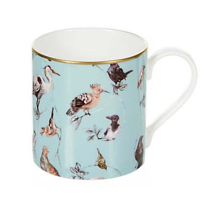 House of Hackney 'Flights of Fancy' Mug, Duck Egg