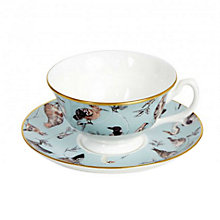 Buy House of Hackney 'Flights Of Fancy' Teacup and Saucer Set Online at johnlewis.com