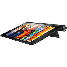 "Buy Lenovo Yoga Tab 3 10, Qualcomm APQ8009, Android 5.1, Wi-Fi, 1GB RAM, 16GB, 10"" HD Online at johnlewis.com"