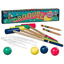Buy Ridley's Croquet Set Online at johnlewis.com