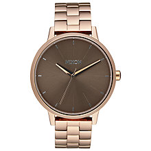 Buy Nixon Women's Kensington Bracelet Strap Watch Online at johnlewis.com