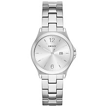 Buy DKNY Women's Parsons Date Bracelet Strap Watch Online at johnlewis.com