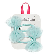 Buy Rockahula Glitter Bow Hair Clips, Pack of 2 Online at johnlewis.com