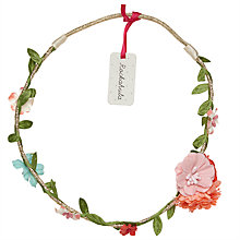 Buy Rockahula Woodland Floral Hair Garland, Gold Online at johnlewis.com