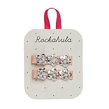 Buy Rockahula Holographic Hair Clips, Pack of 2, Pink Online at johnlewis.com