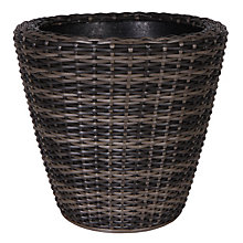 Buy Ivyline Large Rattan Planter Online at johnlewis.com