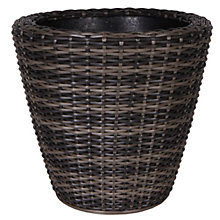Buy Ivyline Rattan Planter Online at johnlewis.com
