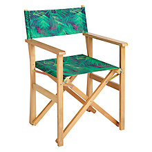 Buy John Lewis Directors Chair, Dark Leaf Online at johnlewis.com