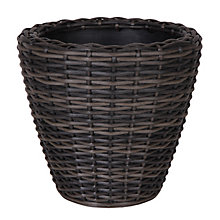 Buy Ivyline Medium Rattan Planter Online at johnlewis.com