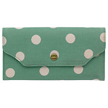 Buy Cath Kidston Folded Button Zip Wallet Online at johnlewis.com