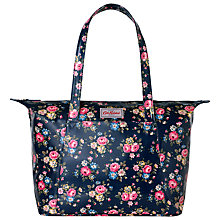 Buy Cath Kidston Large Slip Pocket Shoulder Bag, Navy Online at johnlewis.com