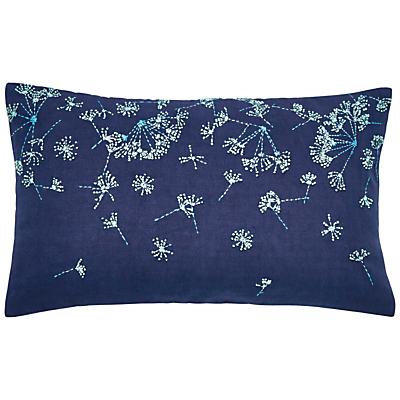 Image of Clarissa Hulse Clover Stripe Cushion, Blue